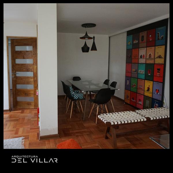 Foto comedor y puerta corredera a nueva cocina de iost for Puertas correderas comedor