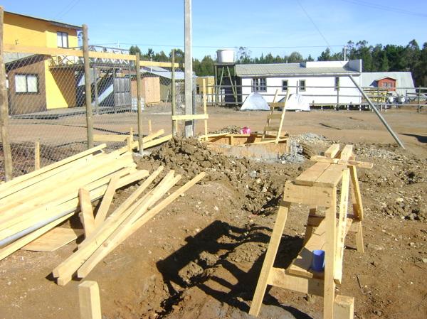 Foto construccion estanque de agua potable subterraneo de for Estanques para agua potable