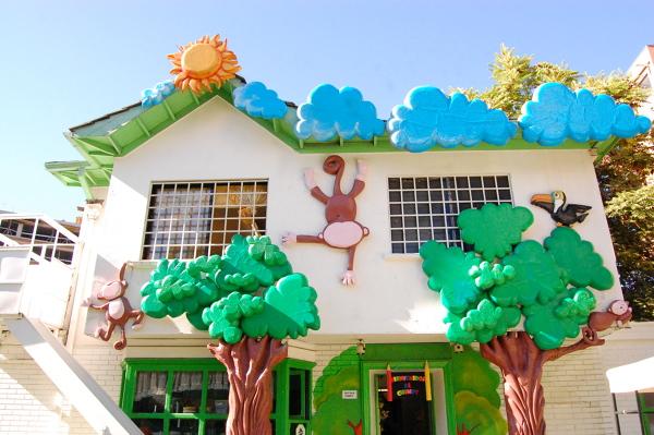 Foto decoracion fachada jardin infantil de creadorfx - Decoracion de fachadas ...