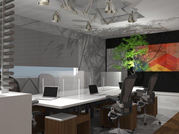 Foto: Diseño Interior Oficinas Hoz Martins de One Arquitectura ...