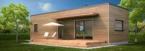 Foto dise o madera impregnada llave en mano de santa sara constructora 123256 habitissimo - Petite maison en bois ...