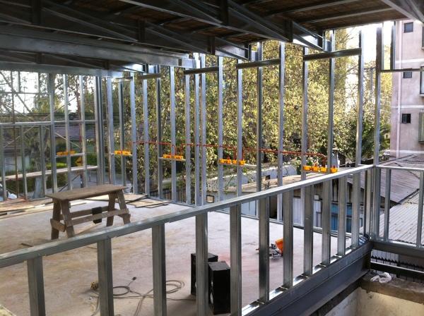 Foto estructura de volco metal 2 piso de constructora valle verde ltda 148796 habitissimo - Estructura de metal ...