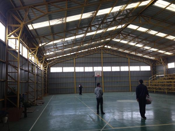 Foto gimnasio colegio nirvana alto hospicio iquique de for Gimnasio nirvana