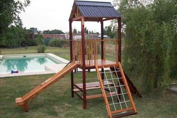 Construcción de Juegos para Jardín | Ideas Carpinteros