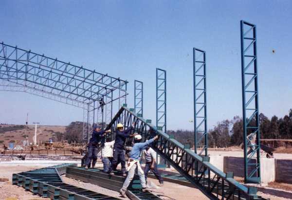 Foto montaje de sercha de 64619 habitissimo - Fotos de estructuras metalicas ...