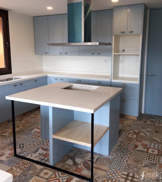 Foto: Mueble de Cocina, Condominio Mallorca de Jf Muebles #268543 ...