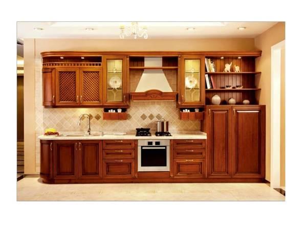 Foto mueble de cocina en rauli de jeconstrucciones 68464 - Imagenes de muebles de cocina ...