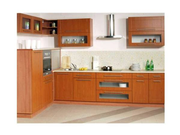 Foto mueble de cocina linea plana de jeconstrucciones - Mueble de cocina moderno ...
