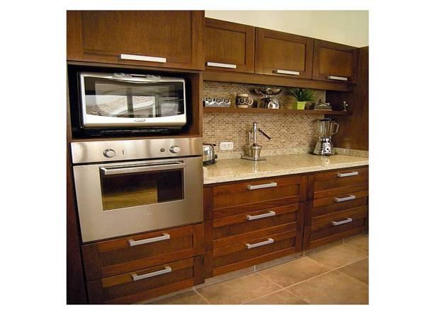 Foto mueble de cocina mueble porta horno y microonda de Mueble para horno