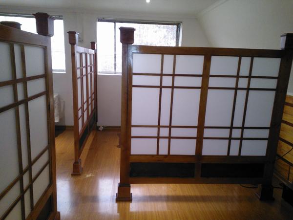 Foto paneles divisores terapias de shojichile 101756 habitissimo - Paneles divisorios para oficinas ...