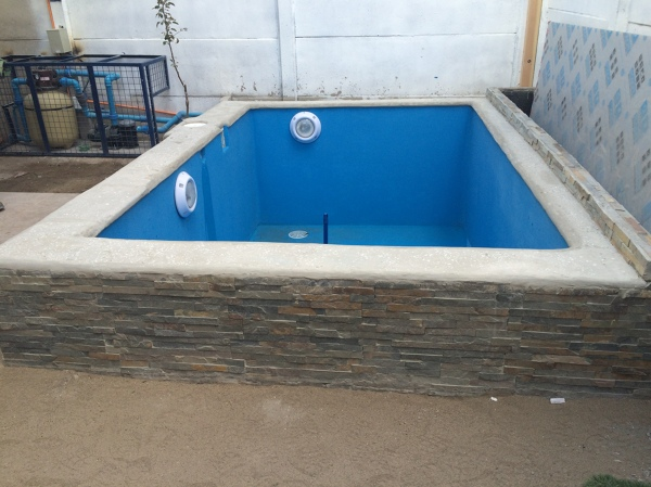 Foto piscina de mts hormigon armado de rva for Piscina desmontable 5x3