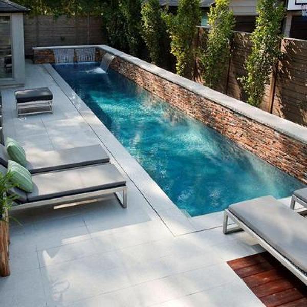 Foto piscina estilo mediterraneo de ruiloba - Costo manutenzione piscina ...
