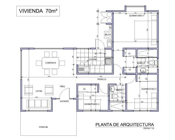 Foto planta de arquitectura de casas metal 65399 for Plantas de arquitectura