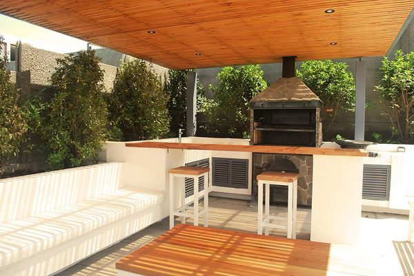 Foto quincho minimalista de marsh 173113 habitissimo for Casa minimalista con quincho