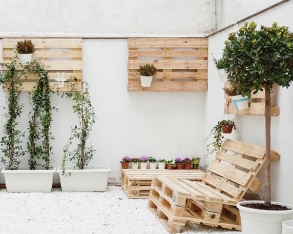 Foto Terraza Con Muebles De Pallets 157983 Habitissimo