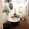 baño con bañeras