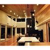Casa en el Lago Rupanco- Vista interior living/comedor