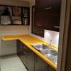 Pintar pasillos de acceso color amarillo