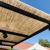 Detalle policarbonato bambú doble