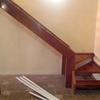Escalera remodelada (madera a la vista)