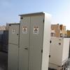 Montaje de tableros electricos y generador de respaldo.