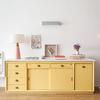Mueble amarillo restaurado