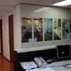 Oficina Los Cerros: remodelación interior.