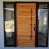 puerta acceso Roble