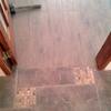 Terminación cocina pasillo