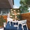 Terraza hygge, pisos