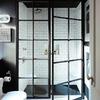 Mamparas de fierro en ducha