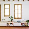 ventanas con marcos en madera