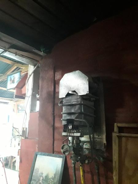 ¿Cómo hacer la salida de tiraje de un calefont?