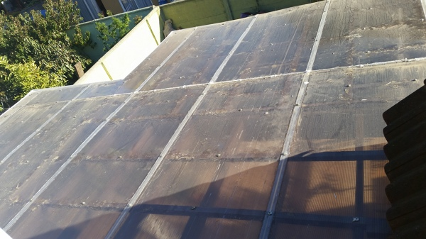 Ayuda con goteras en techo de terraza