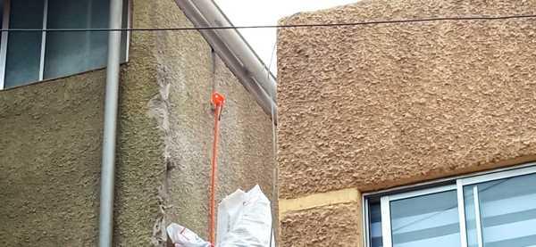 ¿La construcción de esta canaleta es legal?