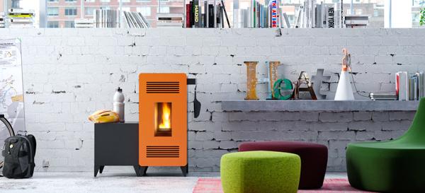 ¿Evitaría la condensación en las paredes con una estufa a pellet?