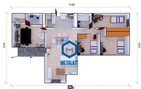 ¿Cuál es el valor de armado de una casa prefabricada?