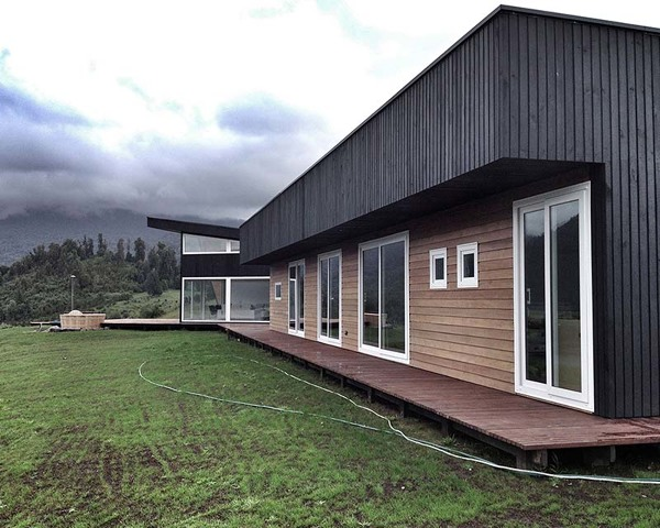 Presupuesto construir casa piedra online habitissimo for Revestimiento exterior zinc
