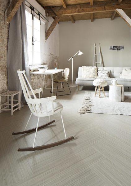¿Cuál seria el  grosor mas adecuado del piso vinílico para poner en un dormitorio?