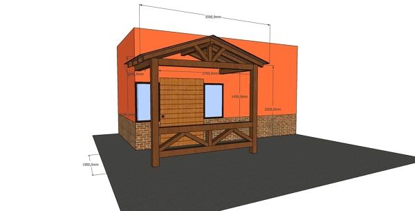 ¿Cuánto cuesta un cobertizo de madera?