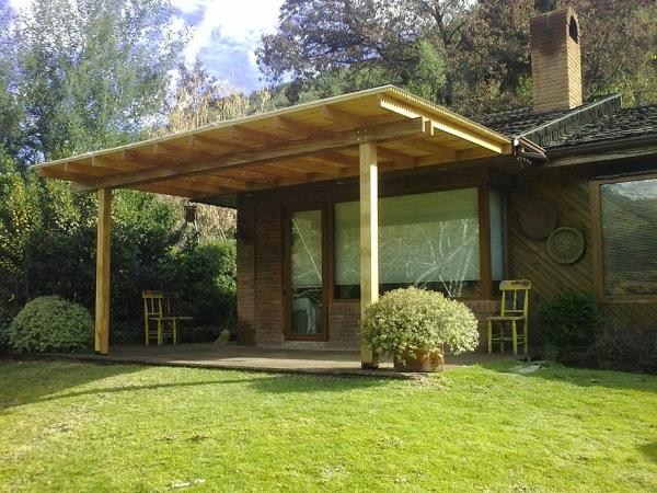 Precio de la terraza habitissimo for Cobertizo de madera para terraza