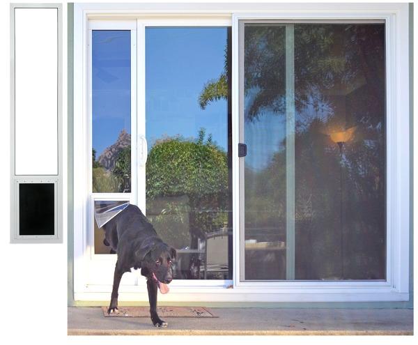 Construir entrada de mascota en ventanal