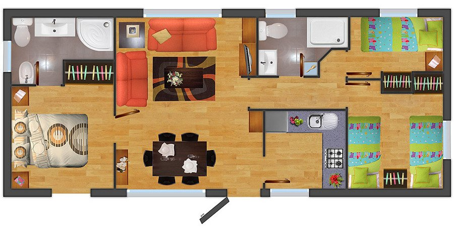 Construir casa prefabricada 3 dormitorios cerro navia - Construccion de casas prefabricadas ...