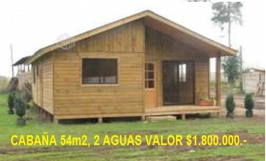 Casa prefabricada de 54 mts2 el tabo regi n v - Precio de una casa prefabricada ...