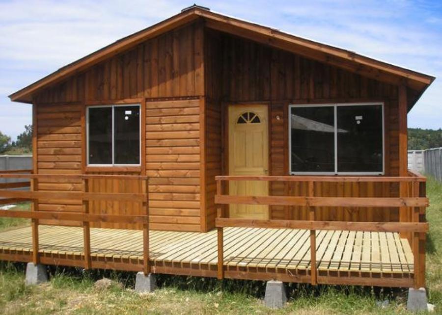 Lejos de casa cabana de madera prefabricada - Casas rurales de madera ...