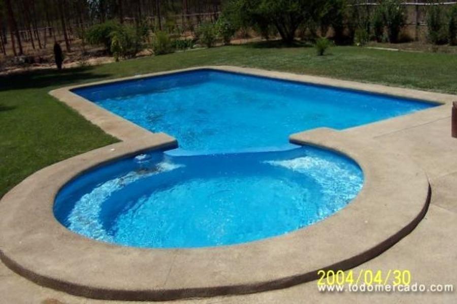 piscina de cemento y granito encerro coinco coinco