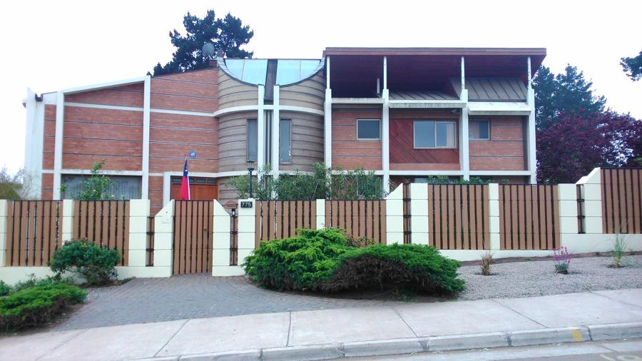 Pintar fachada frontal de una casa en concepci n 110 mt - Presupuesto pintar casa ...