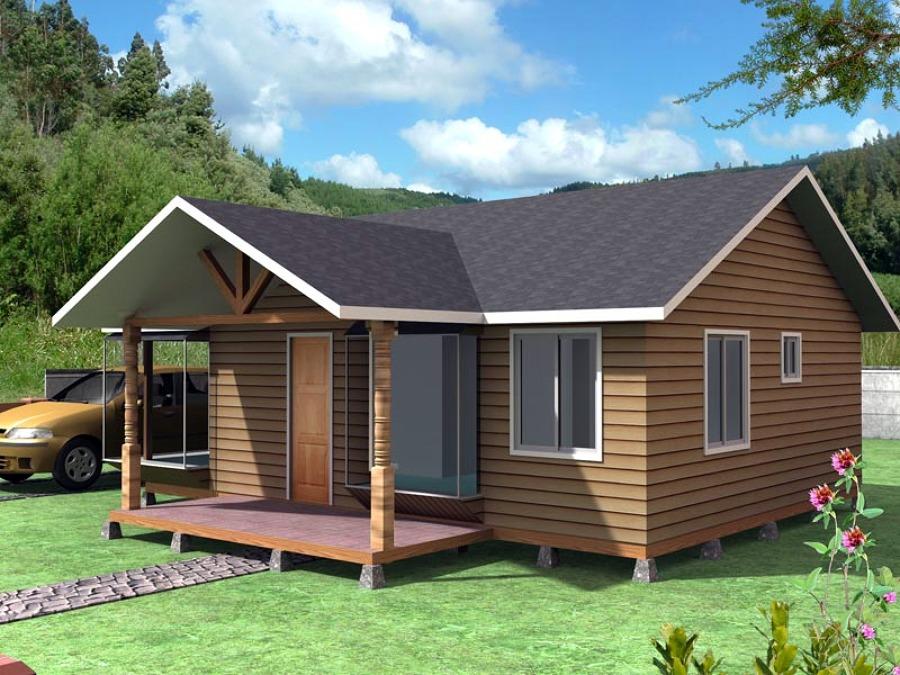 Construcci n casa ca ete regi n viii biob o arauco - Precio construccion casa ...
