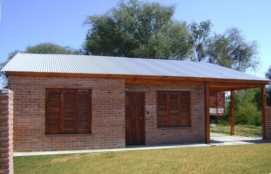 Construir obra gruesa de casa de 50 m2 con ladrillo fiscal for Construir casa precio m2