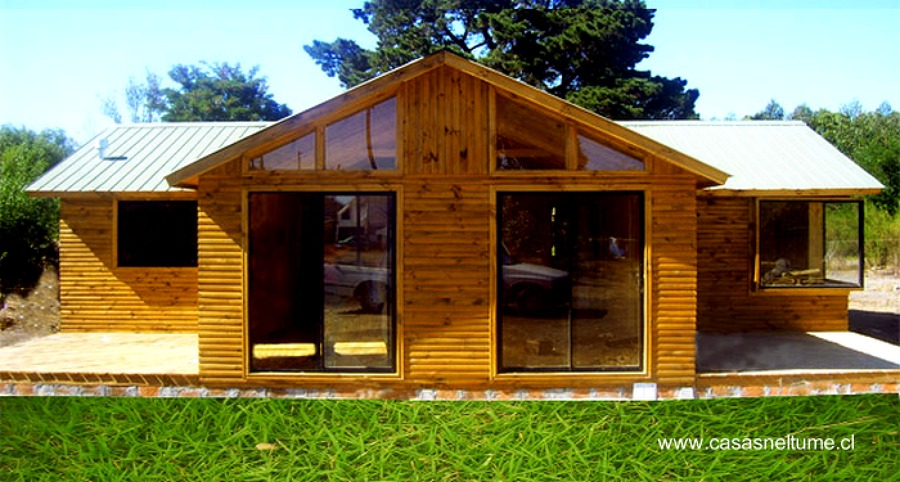 Construir casa vacacional o para zona rural 120 metros for Tipos de casas para construir